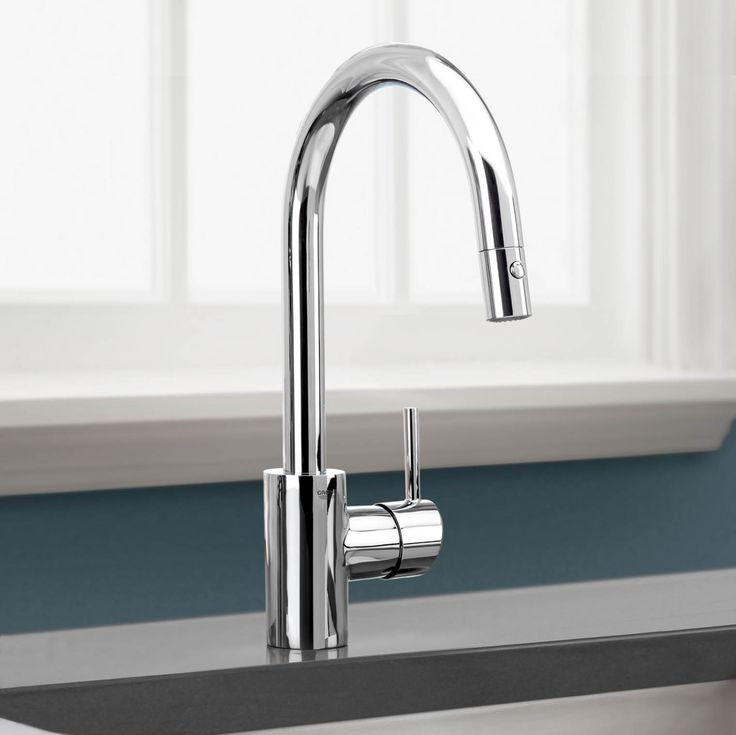 Grohe Concetto Kitchen Tap With Pull Out Mousseur Spout - Kitchen ...