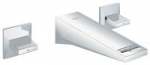 Grohe Allure Brilliant 3-hole Wall-mounted Basin Mixer 20346000