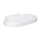 Grohe 39070001 EuroCosmo Counter Top Basin 80