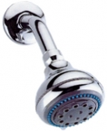 Abagno 5-Jet Fixed Shower With Arm AR-263W-A