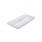 American Standard Fecility Double Countertop Lava Counter Top Basin