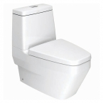 American Standard IDS Clear Close Coupled Toilet