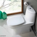 Johnson Suisse One Piece Toilet WC