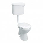 Johnson Suisse Low-level Pedestal Toilet WC