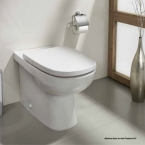 Johnson Suisse Back-to-wall Pedestal Toilet WC