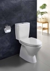 Johnson Suisse Close-coupled Toilet WC
