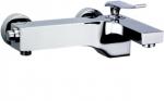 Abagno Exposed Bath Mixer-Nickel LAM-022-NK