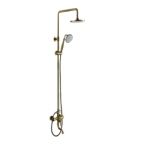Abagno Exposed Shower Column With Bath Mixer LP-BM-976-661-BR