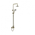 Abagno Exposed Shower Column With Shower Mixer - Brass Bronze LP-SM-976-661-BR