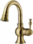 Abagno Basin Mixer With Double Spray Bronze LPM-075-BR