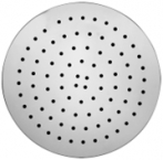 Abagno 250mm Ultrathin Rain Shower Head With Air-Turbo Round RO-0410-AT