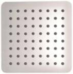 Abagno 200mm Ultrathin Rain Shower Head Square Nickel SQ-2008-NK