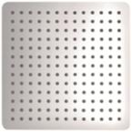 Abagno 250mm Ultrathin Rain Shower Head Square SQ-2510P