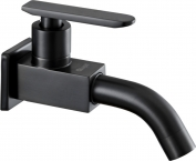 Abagno Bib Tap Black Nickel T-84224-BN