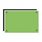Ika Tempered Glass Green Splash Back