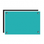 Ika Tempered Glass Sky Blue Splash Back